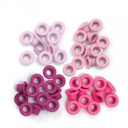 Surtido Ojales - Pink