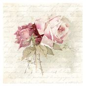 Servilleta Vintage Rose Poem