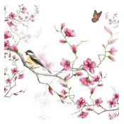Servilleta Bird and Blossom