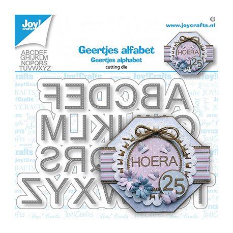 Troquel Alfabeto Letras cosidas