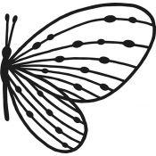 Troquel Perfil de Mariposa