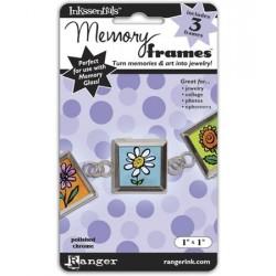 "MEMORY GLASS FRAMES 1"" PLATA"