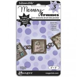 """MEMORY GLASS FRAMES 1"""" COBRE"""