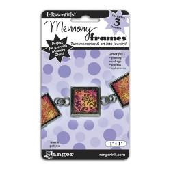 """MEMORY GLASS FRAMES 1"""" PLATA ENVEJECIDO"""