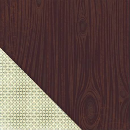 Acorn Hollow - Walnut Woodgrain