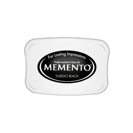 Tampón de tinta Memento Pad Tuxedo Black de Tsukineko