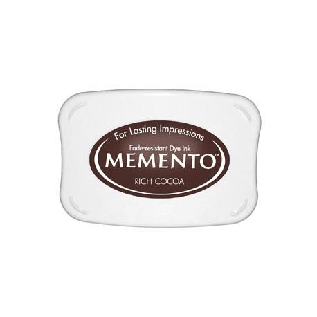 Tampón de tinta Memento Pad Rich Cocoa de Tsukineko