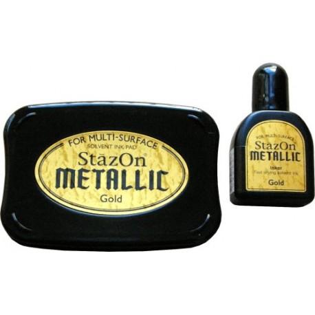 StazOn Metallic - Gold