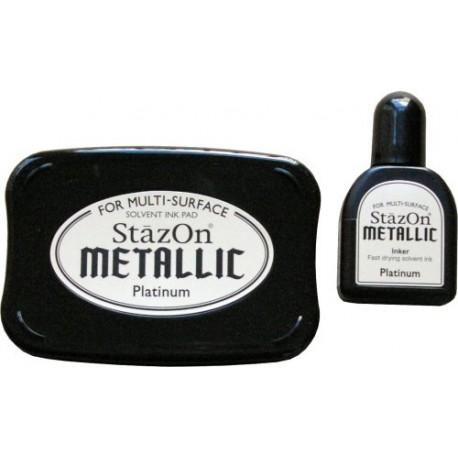StazOn Metallic - Platinum