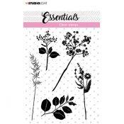 Sello Acrilico Flower and Leaves Essentials