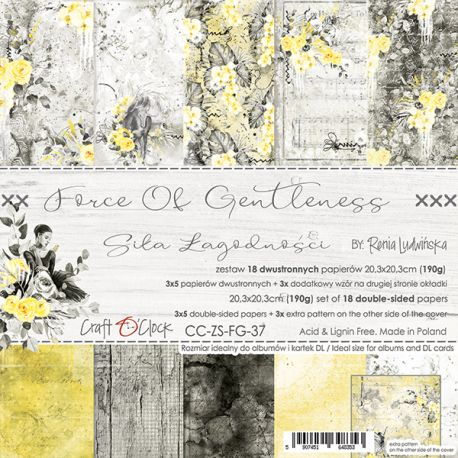 Force of Gentleness - Paper Set 20x20