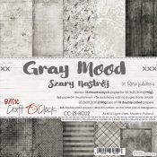 Gray Mood - Paper Set 20x20