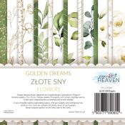 Golden Dreams Flower Deco 15X15 Set