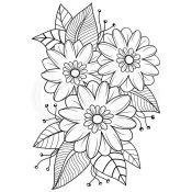 Sello Acrílico Passion Flower