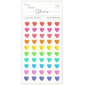 Glossies Mini Hearts - Party Mix