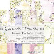 Summer Flowers - Paper Set 20x20