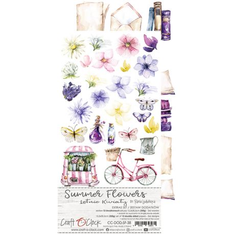 Summer Flowers - Extras to cut Set