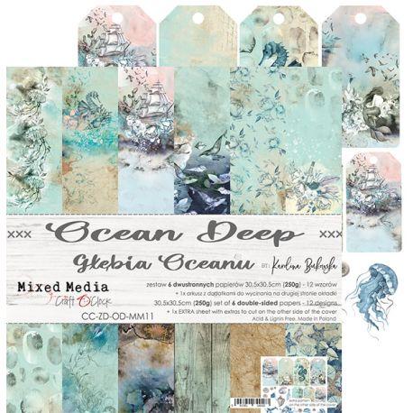 Ocean Deep - Paper Set 30x30