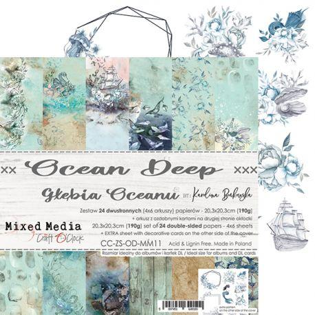 Ocean Deep - Paper Set 20x20
