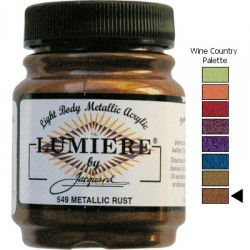 LUMIERE - Metallic Rust