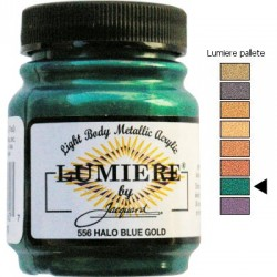 LUMIERE - Halo Blue Gold