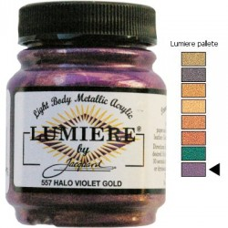 LUMIERE - Halo Violet Gold