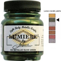LUMIERE - Olive green