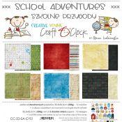 School Adventures Paper Set 30x30