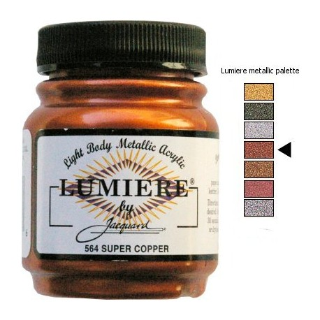 LUMIERE - Metallic Copper