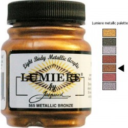 LUMIERE - Metallic Bronze
