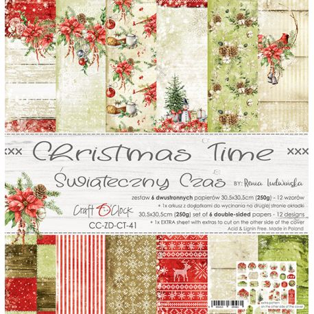 Christmas Time Paper Set 30x30