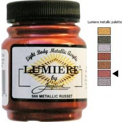LUMIERE - Metallic Russet