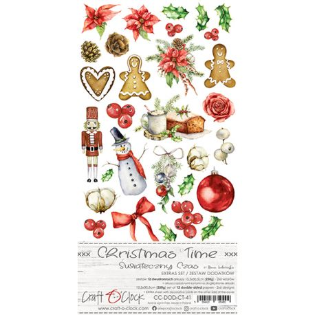 Christmas Times - Extras to cut Set