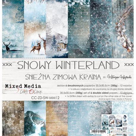 Snowy Winterland - Paper Set 30x30