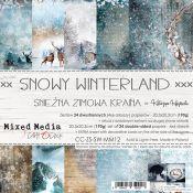 Snowy Winterland - Paper Set 20x20