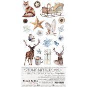 Snowy Winterland - Extras to cut Set