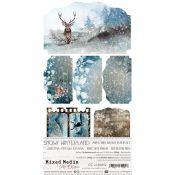 Snowy Winterland Junk Journal Set