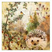 Servilleta Autumn Hedgehog