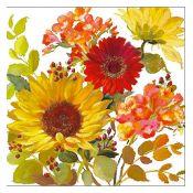 Servilleta Sunny Flowers Cream