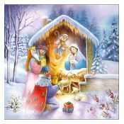 Servilleta Nativity