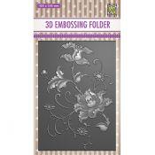 3D Embossing Folder - Exotic Flower
