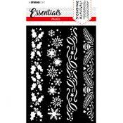 Stencil Christmas Borders