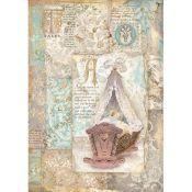 Papel Arroz A4 Sleeping Beauty Cradle