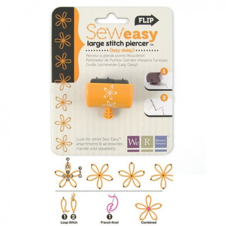 Stitch piercer Large - Lazy daisy