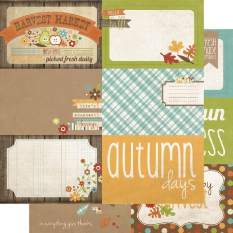 Harvest Lane - Journaling Cards 2