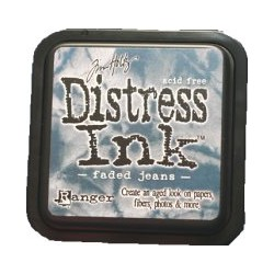 Distress Ink Pad - Faded Jeans