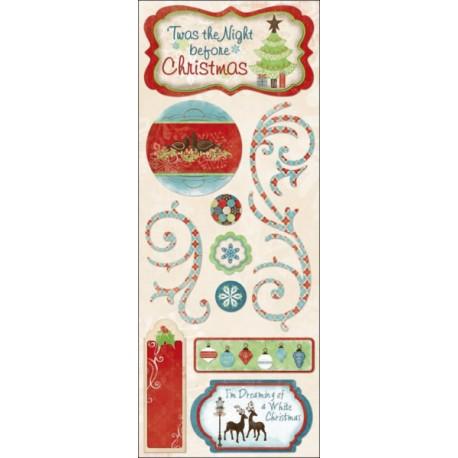 BliTZEN - White Christmas Stickers