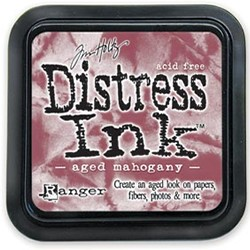 Distress Ink Pad - Aged Mahogany