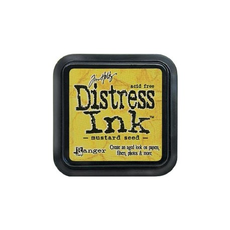 Distress Ink Pad - Mustard Seed