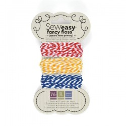 Sew Easy Fancy Floss - Primary